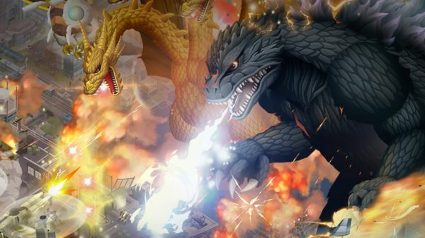 Godzilla Defense Force main art